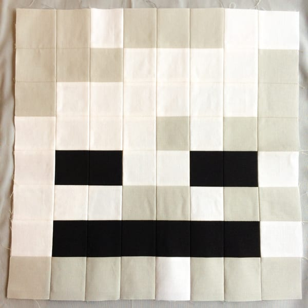 Minecraft Quilt Block Skeleton