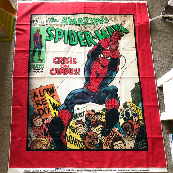 Spiderman Panel