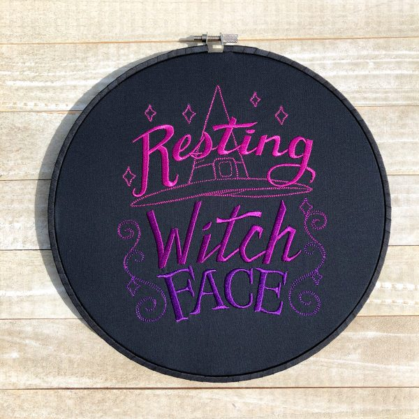 Supernatural Wit: Resting Witch Face